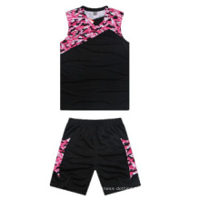 Comfortable Basketball Jersey Custom Dry Fit Sublimation Printing Reversible Basketball Shirts