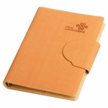 Heißpräge Hardcover PU Leder Notebook Druck