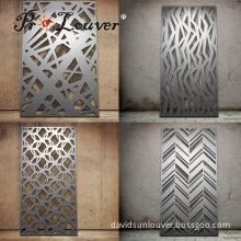 Artistic designed decorative custom laser cut panel