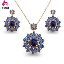 Комплект из ожерелья и серьги из Бразильского стиля