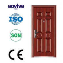 High quality door material iron door designs