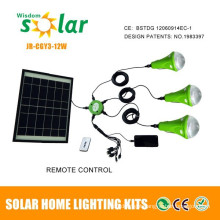 Led Solar Light With Mobile Charger for Rural Home Indoor Lighting