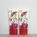 50ml hand cream twist cc cream test aluminum plastic cosmetic tube