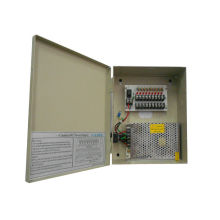 12v Dc 5a 9 Ch Cctv Power Supplies , Surveillance Cameras Power Supply Box 60w