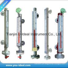 Tipo de flutuador magnético PP / aço inoxidável / titânio indicador de nível de água