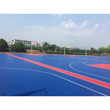 Pilar basket lapangan basket interlocking