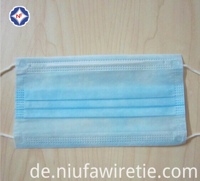 plastic nose wire of face mask