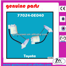 Plástico Nuevo Tipos Toyota Filtro De Combustible Para Toyota Highlander 77024-0E040