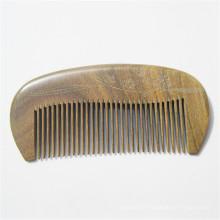 massage de la tête brosse à cheveux fait main natrual bois de santal