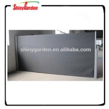 JAGO aluminio retráctil pantalla lateral sol sacando toldo