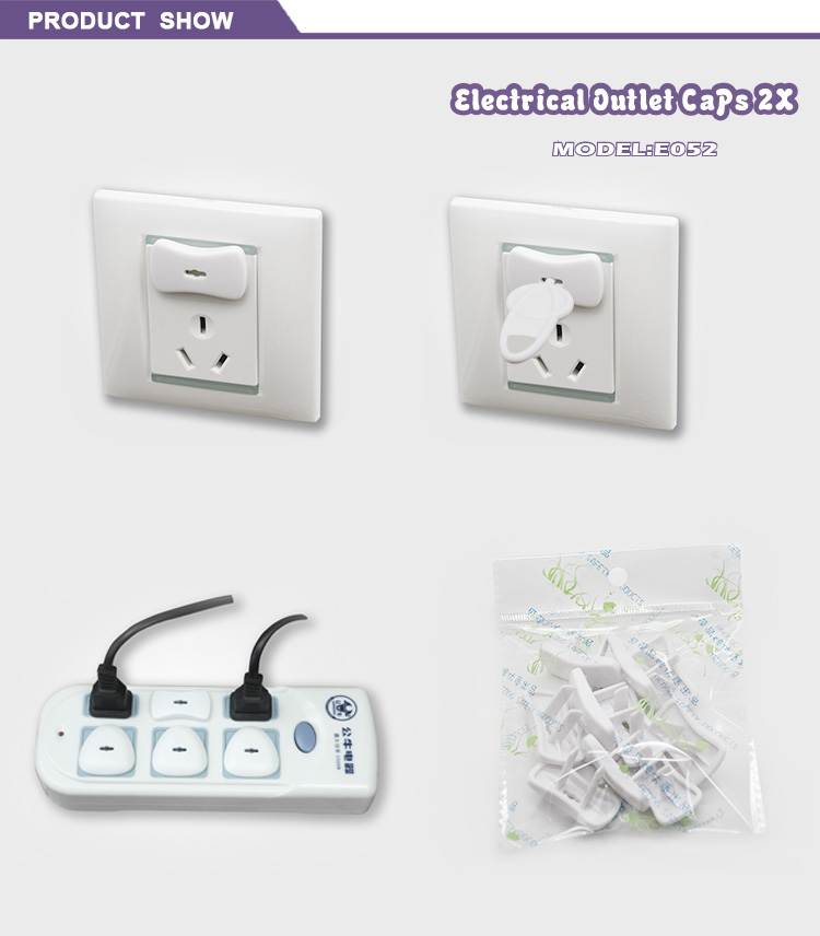 Plastic Childproof Socket Covers