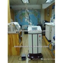 Hhigh qualité CO2 partielle fractionnant la cicatrice de laser refaisant la peau médicale beauté machine