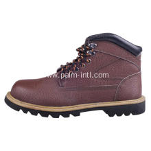 Smooth Leather/ EVA Lining Safety Boots