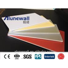 Revestimiento interior / exterior de la pared Paneles sólidos de aluminio Paneles compuestos de aluminio