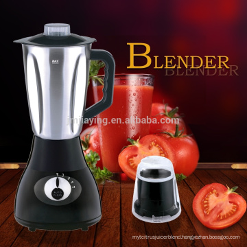 1.5L Stainless Steel Jar 4 Speeds 2 In 1 Electric Blender