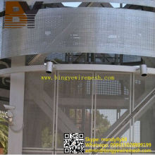 Decorative Wall Powder Coated Stainless Steel Perforated Sheet