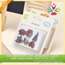 Lovely craft decor craft scrapbook brads diy decoration material