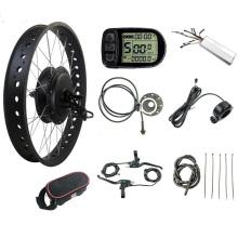 Kits de roues de moteur de gros vélo électrique 72V 3000W