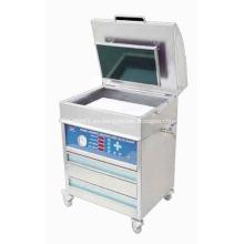 Agua lavado resina placa que hace la máquina