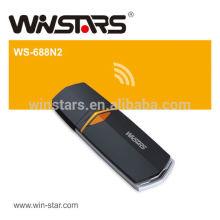 Adaptador Wireless-N USB 2.0 de 300Mbps, cartão sem fio 802.11n LAN, CE, FCC