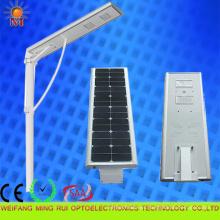 Alta eficiencia 5 años de garantía Luz de calle solar integrada 40W