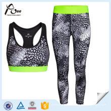 Frauen-Gewohnheits-Eignungs-Kleidung-Trainings-Laufbekleidung