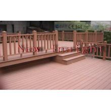 135*25mm Wood Plastic Composite Outdoor Decking