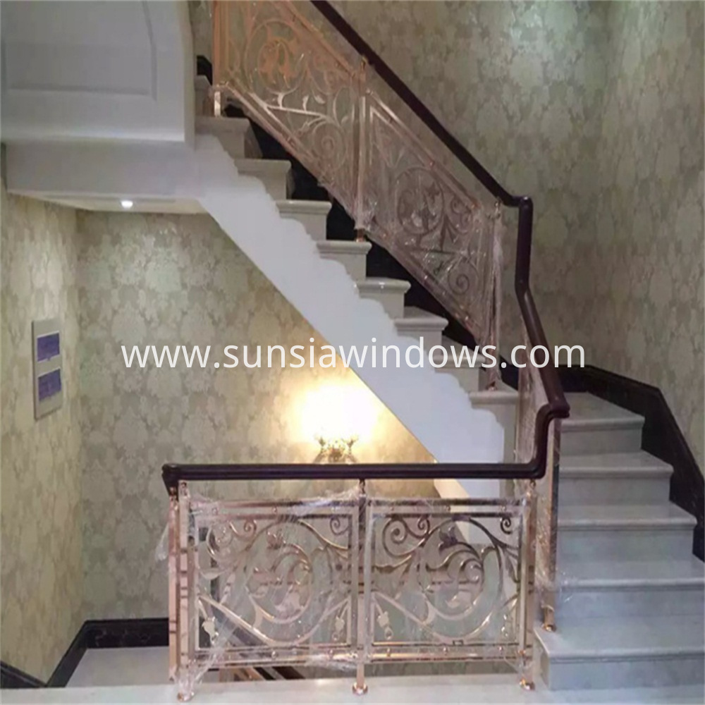 Aluminum Handrail and Balustrade