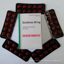50mg Schmerzentferner Tabletten Diclofenac