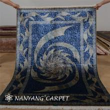 4'x6' Vortex Rug Modern Silk Persian Carpet