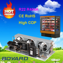 cold room freezer condenser unit with R404a refrigeration compressor condensing units