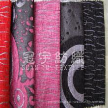 Sofá Chenille tecido fio tingido para têxteis-lar