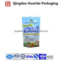 Aufstehen Fungizid-Verpackungsbeutel mit Reißverschluss und Hang-Loch