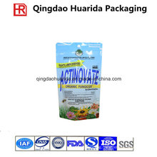 Stand up Fungicide Packaging Bag with Zipper and Hang Hole