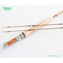 Hexágono Tonkin Bambu Fly Pesca Rod