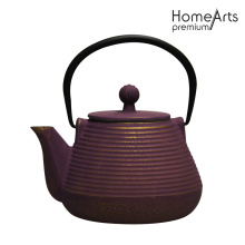 Enamel Cast Iron Tea Pot