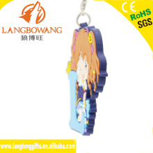 Custom plastic sleutelhanger fabrikanten in China