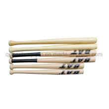 Batte de baseball en bois promotionnelle de haute qualité de logo d'OEM