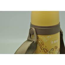 Haute qualité 304 en acier inoxydable à double paroi bouteille à vide Svf-600e à vide