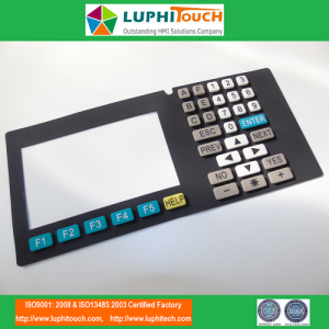 CNC Machine Good Quality Silicone Rubber Keypad