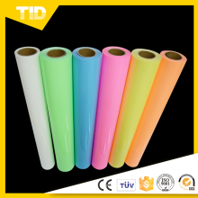Glow In The Dark Heat Transfer Polyester Film For Clothing