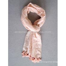 Solid color viscose custom scarf fashion