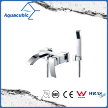 Wall Mount Chromed Brass Bath Faucet with Hand Shower (AF6018-2)