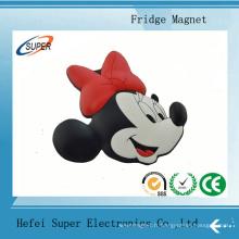 Aimant de réfrigérateur 3D promotionnel de haute qualité