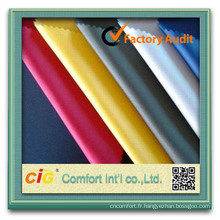 Mode nouveau design élégant imprimé gros tissu satin polyester