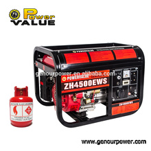 Home use 3.5kw gas power generator