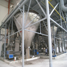 Secador de pulverizador centrífugo de alta velocidade da indústria dos gêneros alimentícios / materiais de alimentação do LPG
