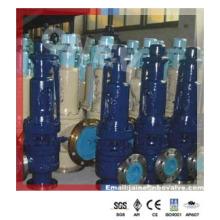 Steam Bolier Wc9 / Wc6 Válvula de alívio de mola flangeada para 450degc