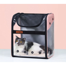 Wholesale Comfort Transparent Capsule Pet Backpack Carrier Bag for Small Animals