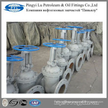GOST carbon steel stem gate valve pipe fitting oil field